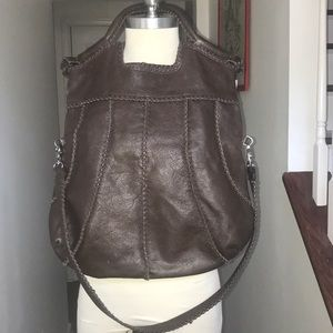 Extra Large Foley Corinna Brown Leather Bag❤️